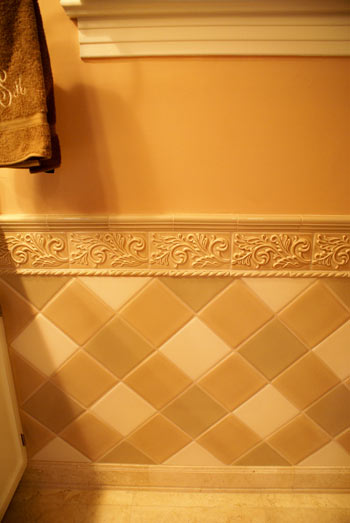 Bathroom photo - tile details 1