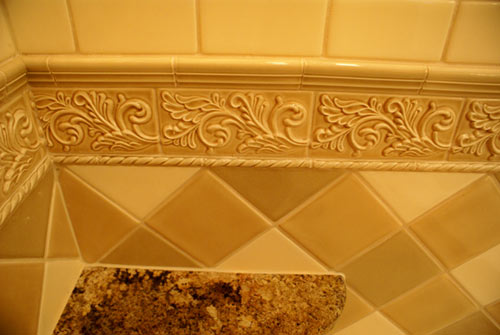Bathroom photo - tile details 2